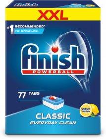 Tabletki do zmywarek Finish Classic, cytrynowy, 77 sztuk