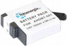 Akumulator Fotoenergia AHDBT-501 AABAT-001, do kamer Go Pro, 3.85V, 1220mAh