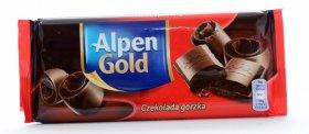 Czekolada Alpen Gold, gorzka, 90g