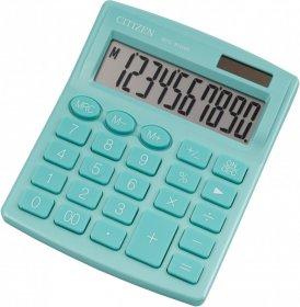 Kalkulator biurowy Citizen SDC-810, 10 cyfr, zielony