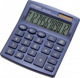 Kalkulator biurowy Citizen SDC-812, 12 cyfr, granatowy