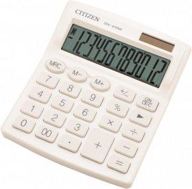Kalkulator biurowy Citizen SDC-812, 12 cyfr, biały