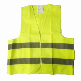 Kamizelka ostrzegawcza PK-MOT, rozmiar XL, żółty
