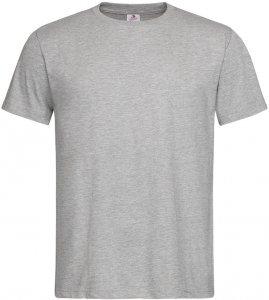 T-shirt Stedman ST2000, męski, 155g, rozmiar XL, popielaty