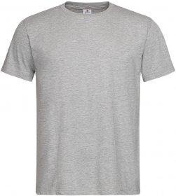 T-shirt Stedman ST2000, męski, 155g, rozmiar M, popielaty