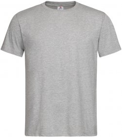 T-shirt Stedman ST2000, męski, 155g, rozmiar L, popielaty
