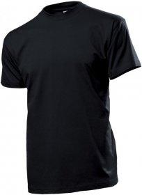 T-shirt Stedman ST2000, męski, 155g, rozmiar S, czarny