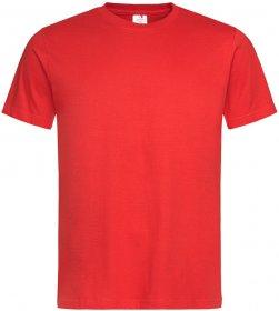 T-shirt Stedman ST2000, męski, 155g, rozmiar S, czerwony