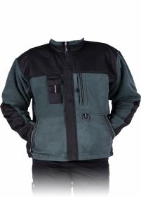 Bluza polarowa Reis Colorado, gramatura 430g, rozmiar L, oliwkowo-czarny