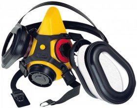 Półmaska Secura 2000 Dust, zestaw, żółty (c)