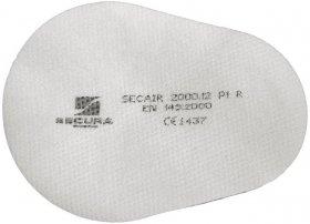 Filtr Secura Secair SEC-FIL-P1R, 10 sztuk, biały