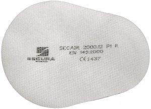 Filtr Secura Secair SEC-FIL-P1R, 10 sztuk, biały (c)
