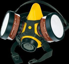 Półmaska Secura 2000 - Lak, zestaw, żółty (c)