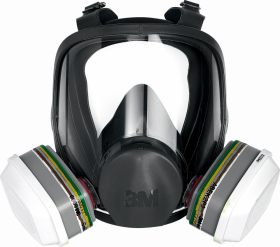 Maska ochronna 3M MAS-F-6000, całotwarzowa, rozmiar M