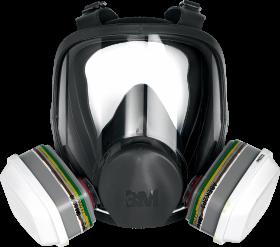 Maska ochronna 3M MAS-F-6000, całotwarzowa, rozmiar  L (c)