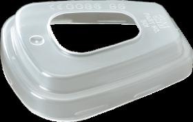 Pokrywa filtra 3M POKFIL, 10 sztuk, biały (c)