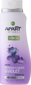Żel pod prysznic Apart Natural Passion Flower & Violet, 400ml