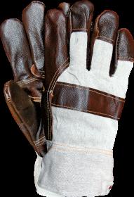Rękawice wzmacniane Reis RLO BECK, ocieplane, rozmiar 11, beżowo-szary