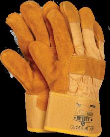Rękawice wzmacniane Reis RWINEY YH, ocieplane, rozmiar 11, żółty