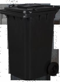 Pojemnik na odpady, 240l, grafitowy
