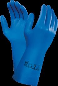 Rękawice nitrylowe Ansell Virtex 79-700, rozmiar 8, niebieski (c)