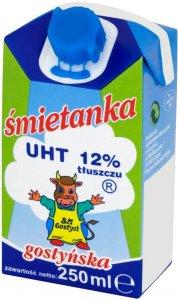 Śmietanka UHT Gostyń, 12%, 250ml