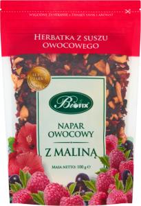 Herbata owocowa z suszu Bifix, malina, 100g
