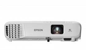 Projektor lampowy Epson EB-W05 WXGA(V11H840040), 3300lm, WiFi, biały