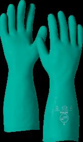 Rękawice nitrylowe DuPont Tychem NT480, rozmiar 9, zielony (c)