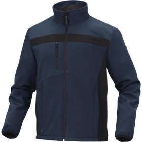 Bluza softshell Delta Plus Lulea2, rozmiar L, granatowo-czarny