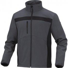 Bluza softshell Delta Plus Lulea2, rozmiar L, szaro-czarny