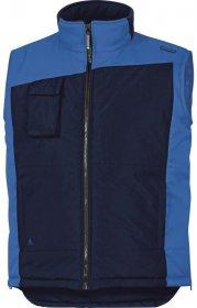 Bezrękawnik ocieplany Delta Plus FIDJI2, rozmiar XL, granatowo-niebieski
