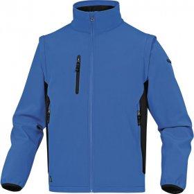 Bluza softshell Delta Plus Mysen2, rozmiar XL, niebiesko-czarny