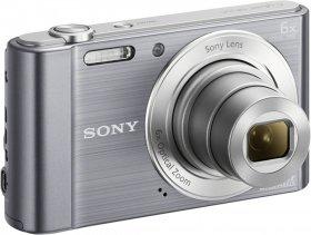 Aparat fotograficzny Sony DSC-W810, 20.1 Mpix, srebrny