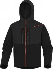 Bluza softshell Delta Plus Horten, rozmiar M, czarno-pomarańczowy