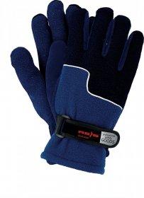 Rękawice ocieplane Reis RPOLTRIP, rozmiar 10, niebiesko-granatowy