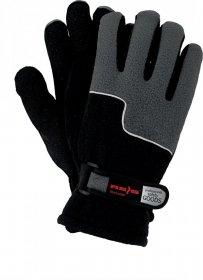 Rękawice ocieplane Reis RPOLTRIP, rozmiar 10, czarno-szary