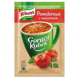 Zupa Knorr gorący kubek, pomidorowa z makaronem, 19g