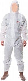 Kombinezon ochronny 3M 3M-KOM-4515 W, rozmiar XL, biały