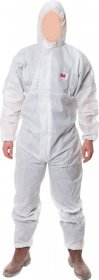 Kombinezon ochronny 3M 3M-KOM-4515 W, rozmiar XXL, biały
