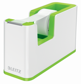 Podajnik do taśmy klejącej Leitz WOW, 19mmx33m, zielony metalik