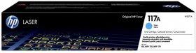 Toner HP 117A (W2071A), 700 stron, cyan (błękitny)
