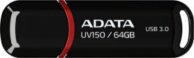 Pendrive Adata DashDrive Value UV150, 64GB, USB 3.0, czarny