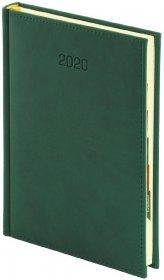 Kalendarz książkowy Vivella 2020, B5, tygodniowy, zielony