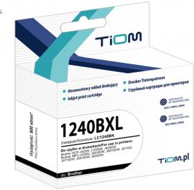 Tusz Tiom Ti-B1240BXL LC-1240 BK (LC1240BK), 600 stron, black (czarny)