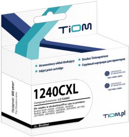 Tusz Tiom Ti-B1240CXL LC-1240 C (LC1240C), 600 stron, cyan (błękitny)