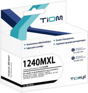 Tusz Tiom Ti-B1240MXL LC-1240 M (LC1240M), 600 stron, magenta (purpurowy)