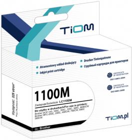 Tusz Tiom Ti-B1100/980M LC-1100 M (LC1100M), 325 stron, magenta (purpurowy)