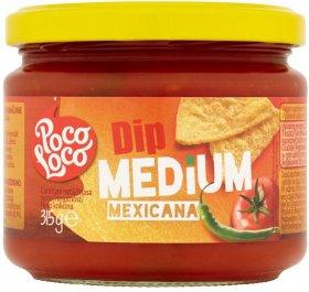 Sos pomidorowy z papryką /dip Poco Loco Medium Mexicana, 315g