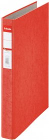 Segregator ringowy Esselte Rainbow, A4, szerokość grzbietu 42 mm, do 190 kartek, 2 ringi, czerwony